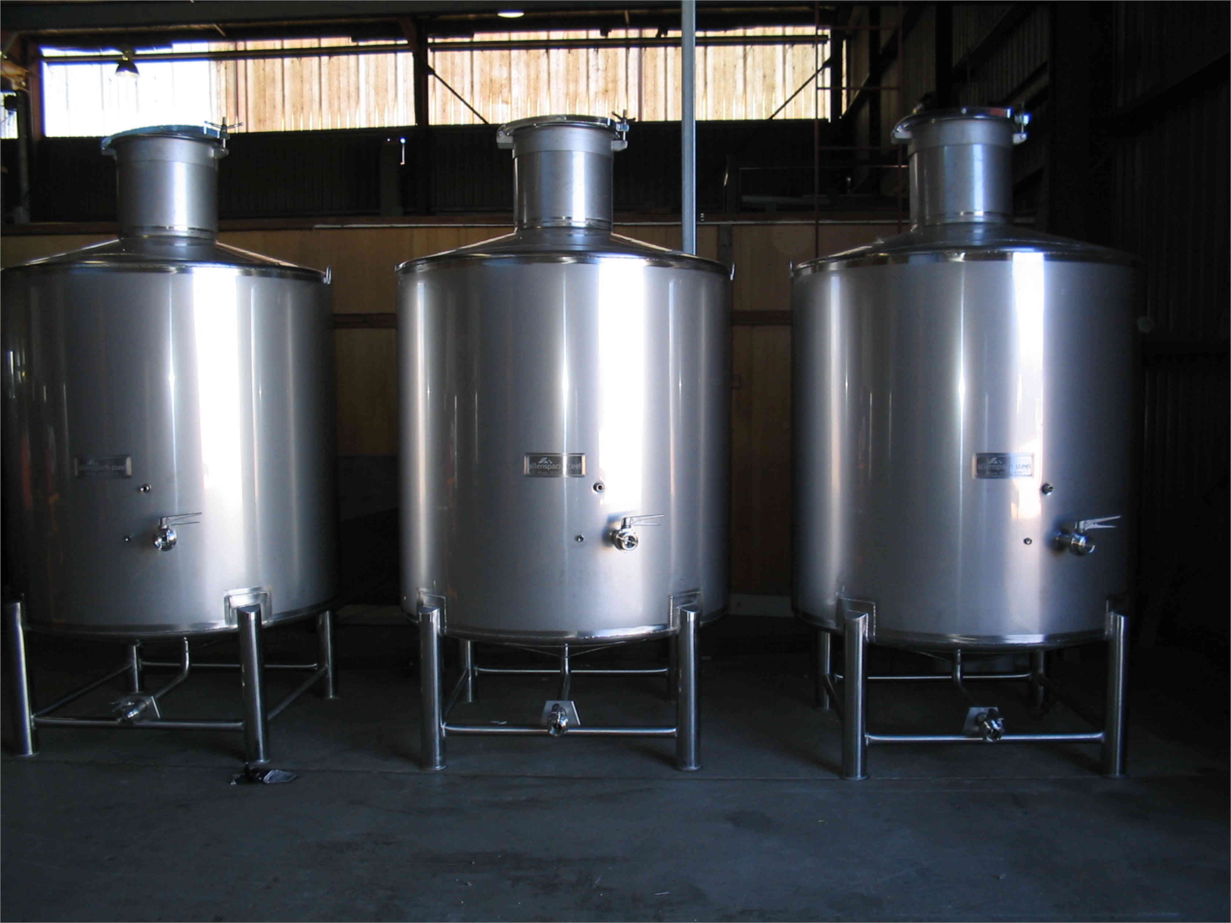 Pressure Vessels And Tumut PO 001